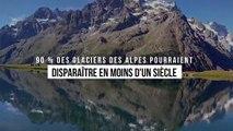 90 % des glaciers des Alpes vont disparaître en moins d'un siècle si rien n'est fait