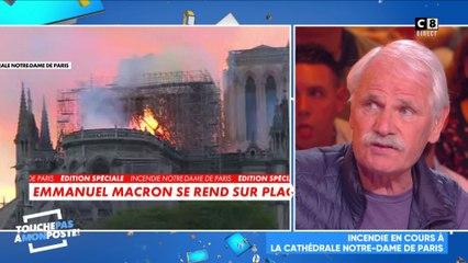 Incendie : Notre-Dame de Paris en feu, Yann Arthus-Bertrand réagit !