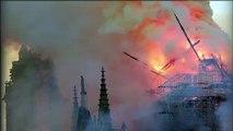 """""""Même pendant la Révolution et la Guerre elle n'a pas été détruite ! """" Philippe, un varois en larmes en voyant les images de Notre Dame en feu"""