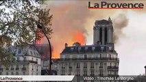 Incendie à Notre-Dame de Paris : la flèche s'est effondrée, la charpente sévèrement touchée