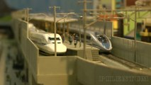 High-Speed Trains in Japan: KATO N Scale Model Railway Layout 鉄道模型 高速鉄道 東海道新幹線 - Video by Pilentum Television - The world of model trains