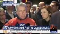 """Notre-Dame de Paris : les pompiers """"pas sûrs de pouvoirs enrayer la propagation"""" de l'incendie"""