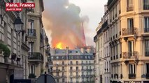 Notre Dame Cathedral Spire Collapses In Massive Fire