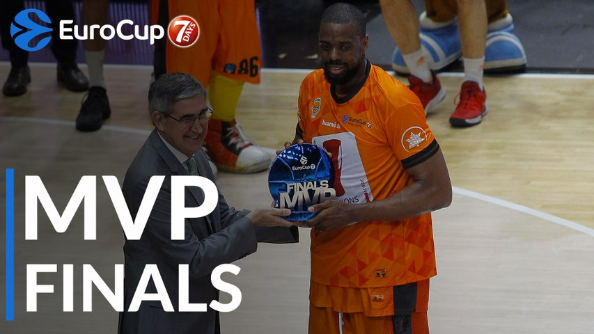 7DAYS EuroCup Finals MVP: Will Thomas, Valencia Basket