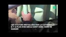 Notre-Dame de Paris : les statues de la flèche de la cathédrale ont été sauvées de justesse