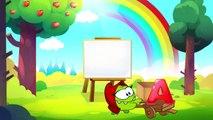ABC de la Chanson | Apprendre l'anglais avec Om Nom | dessin animé Alphabet Chanson