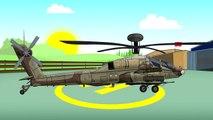 Militaire #Hélicoptère Hélicoptère D'Attaque . la guerre! | Les contes de fées pour les Enfants | Helikopter L'Bajka