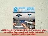 Parmida 12 Pack 56 Dimmable LED Disk Light Flush Mount Recessed Retrofit Ceiling