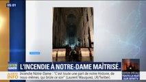 Incendie à Notre-Dame: les premières images à l'intérieur de la cathédrale