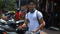 Ishaan Khatter Gets In Trouble After Parking Bike In No-Parking Zone    Filmibeat Telugu