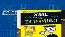[MOST WISHED]  XML All in One Desk Reference for Dummies by Richard Wagner