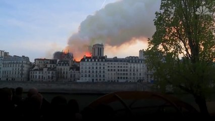 Paris' Notre Dame Cathedral Spire Collapses In Massive Fire  NBC News