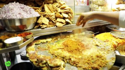 Amazing Hyderabad Street Food | Samosa Ragada | Pani Puri