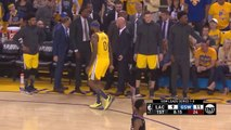 DeMarcus Cousins Quad Injury - Game 2 - Clippers vs Warriors   2019 NBA Playoffs