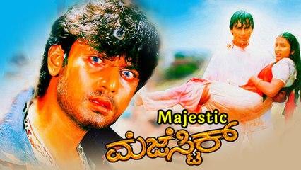Majestic | Kannada New Movies | Darshan Thoogudeepa | Rekha | Jagadish |