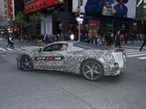 La Corvette C8 dans les rues de New York !