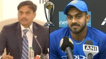 ICC Cricket World Cup 2019 : Vijay Shankar Reaction After His Name Was Announced In World Cup squad