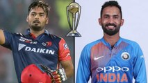 ICC Cricket World Cup 2019 : Dinesh Karthik Back-Up for MS Dhoni in ICC World Cup | Oneindia Telugu