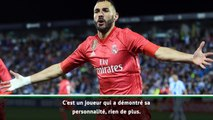 """Zinedine Zidane : """"nous sommes tous contents pour Karim Benzema"""""""