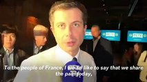 Pete Buttigieg Speaks On Notre Dame Cathedral Fire In French: We Share The Pain