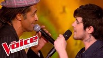 Bob Marley - Redemption Song | Louis Delort & Yannick Noah | The Voice France 2012 | Finale