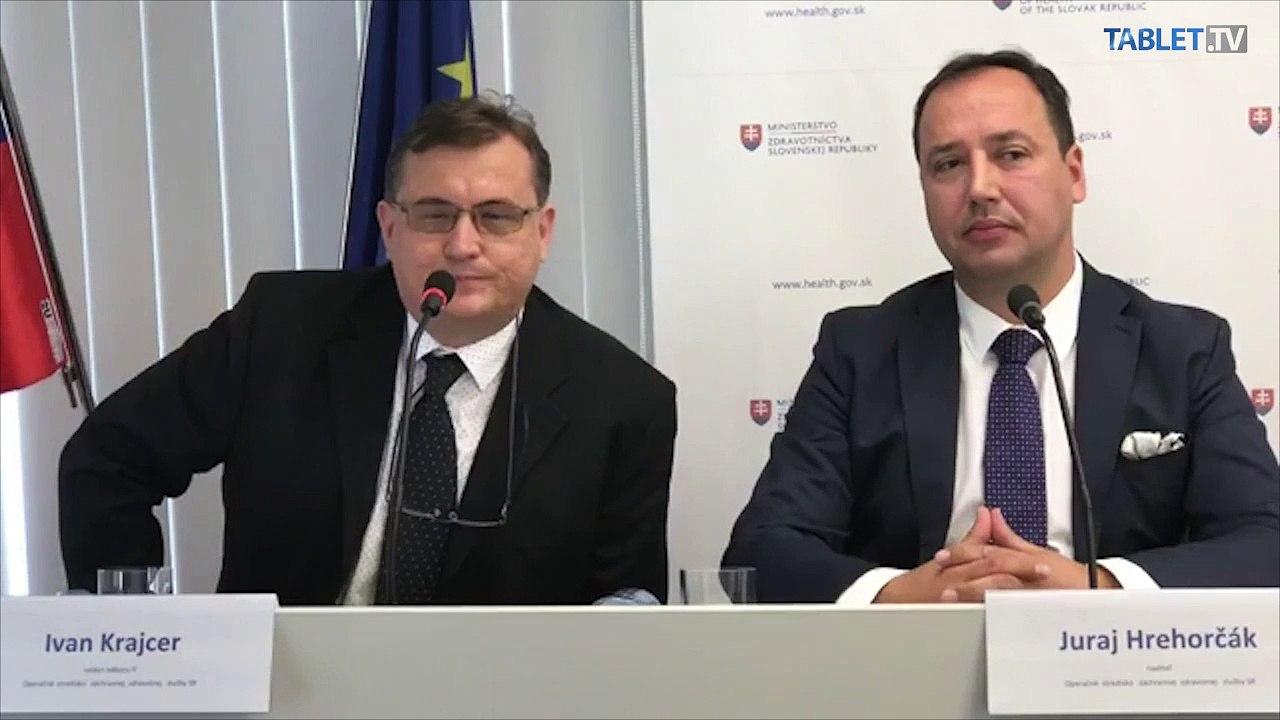 ZÁZNAM: TK ministerky zdravotníctva SR Andrey Kalavskej