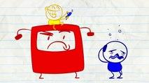 Crayon Amusant contre la Machine! en Animation MECHANICOMPILATION