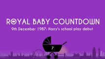 Royal Baby Countdown: Prince Harry dressed as elf for play