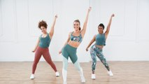 Shake It Out With This Cardio Dance and Barre Toning Workout