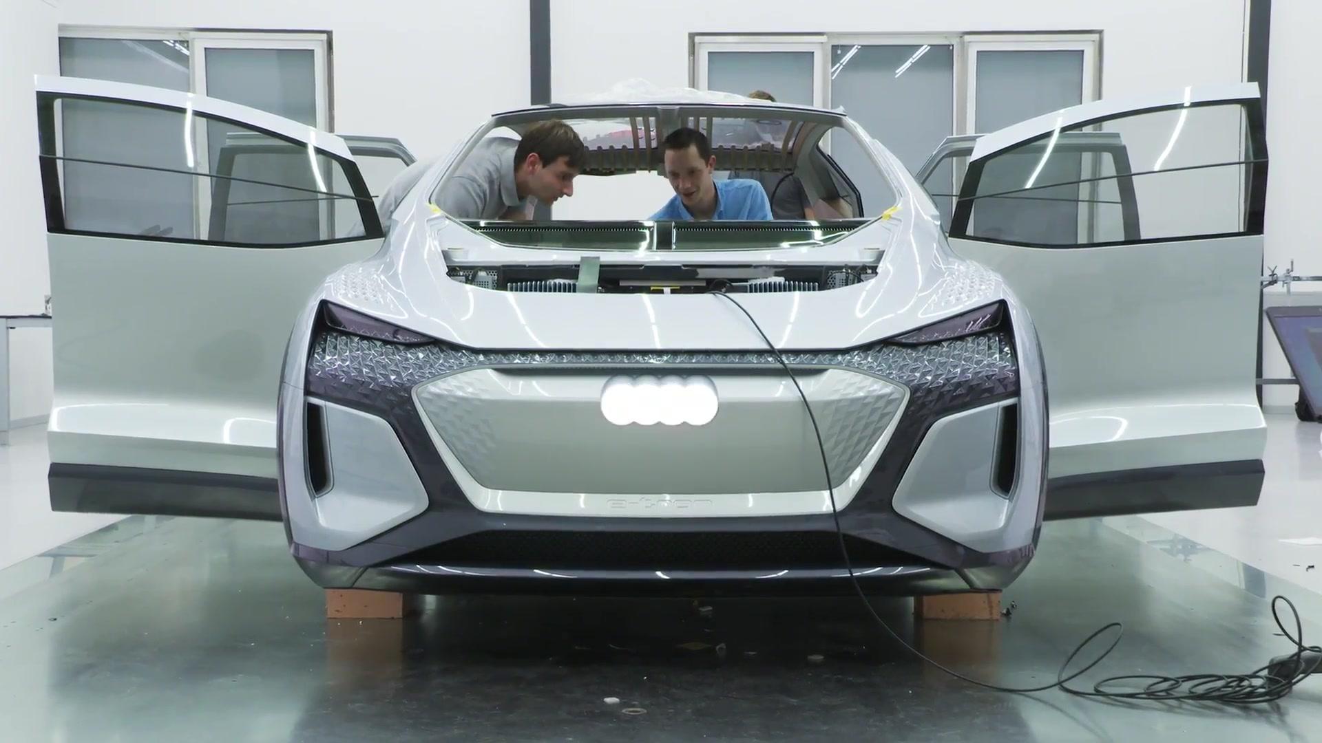 Audi AI:ME – wie entsteht ein Audi Showcar?