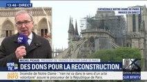 """Très ému, le président de """"Friends of Notre-Dame de Paris"""" remercie """"l'élan populaire pour la cathédrale"""""""