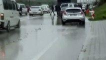 Hatay'da zincirleme trafik kazası: 7 araç birbirine girdi, 3 kişi yaralandı