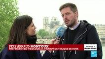 """Incendie de Notre-Dame : """"c'est un drame terrible"""" pour les catholiques au début de la semaine de Pâques"""