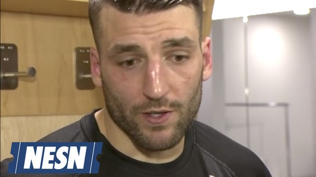 Patrice Bergeron Reacts To Bruins Game 3 Loss To Maple Leafs