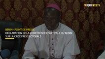 Bénin: déclaration de la Conférence Épiscopale sur la crise pré-électorale