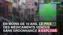 Médicaments en vente libre : les prix flambent !