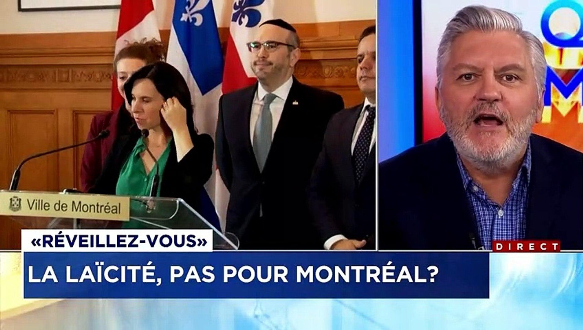 Front commun des élus municipaux montréalais contre la Laïcité (Loi 21) «ce sont des pissous, des pl
