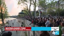 Donations pour in for Notre-Dame reconstruction