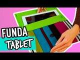 Cómo hacer Funda para Tablet Casera | Con Tela ¡Sin Coser! | Manualidades Catwalk