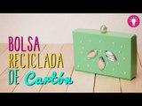 Bolsa de Carton Reciclado - Bolsa de Fiesta Sin Coser - DIY Reciclaje - Mini Tip#67
