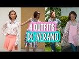 ¡ 4 Outfits para Verano ! | Summer Lookbook 2016 | Dresslink Lookbook Fashion | Catwalk ♥