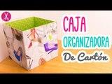 Caja Organizadora de Cartón | Cartonaje para Principiantes| Manualidades con Cartón | Catwalk