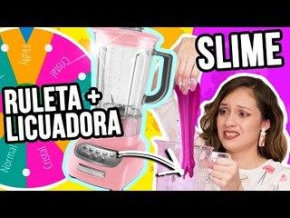 RULETA DE SLIME + LICUADORA ¡RETO EXTREMO!   Catwalk
