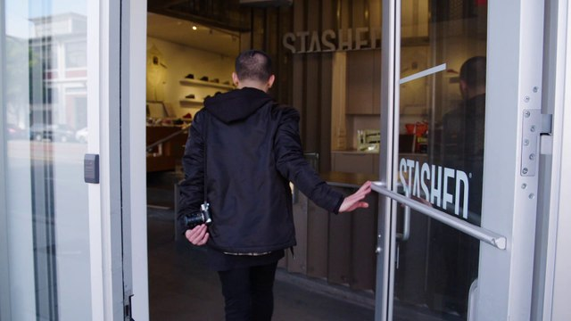 Stashed | A Refined Point of View: SF