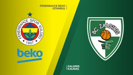 EuroLeague 2018-19 Highlights Playoffs Game 1 video: Fenerbahce 76-43 Zalgiris