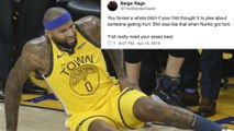 Serious DeMarcus Cousins Quad Injury Leads TO MAJOR Twitter FIGHT!