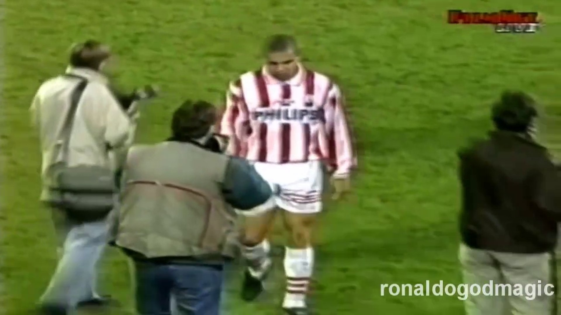 Ronaldo ● Goals and Skills ● PSV 4:1 Feyenoord ● Dutch Eredivisie 1994-95
