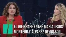 El rifirrafe entre Cayetana Álvarez de Toledo y María Jesús Montero
