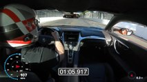 Acura NSX Establishes Production Car Record at Iconic Long Beach Street Circuit