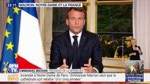 Macron, Notre-Dame et la France